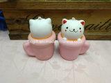 PU Squishy Toy Cat tasse Squishies parfumés à la hausse lente du convoyeur