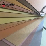 PVDF Plata Ideabond Panel Compuesto de Aluminio para muro cortina (AF-403)