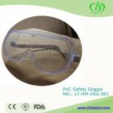 Laborgerät PVC-Schutzbrille-Sicherheits-Schutzbrille