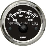 Quadrat-52mm Water Temperature Gauge 40-120 mit Temp Sensor