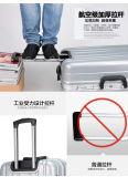 Haltbarer Laufkatze-Gepäck Hardshell Gepäck-Beutel-Aluminiumdeckel-Gepäck