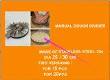 Découpeuse à découpe en acier inoxydable 304 à petite taille dans un équipement de boulangerie