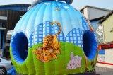 Circo elefante salto insufláveis House com deslize Chb441