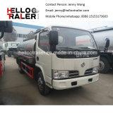 4000liters 4X2の小さいミルクの輸送タンクトラック