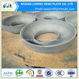 Casquillos principales elípticos del acero de carbón de los casquillos de extremo del tubo para las calderas