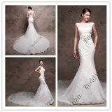 Платье венчания F5080 мантии шнурка Mermaid высокого качества Bridal