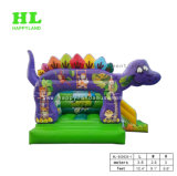 (Rosafarbener) reizender Dinosaurier-aufblasbares kombiniertes für Kinder