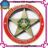Bestellte Metallherausforderungs-Münze für Andenken-Münzen-Geschenke voraus