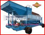 Planta de lavagem Trommel para equipamentos de mineração de ouro aluvial