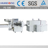 El cosmético automático embotella la máquina horizontal del envoltorio retractor del calor