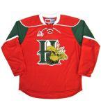 Настроить Qmjhl Галифаксе Mooseheads 2012-Pres мужская женщин Детский хоккей дешевые футболках Nikeid Goalit вырезать пользовательские любое имя № белый зеленый красный футболках NIKEID
