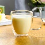Duplo borossilicato Parede de vidro de café xícara de chá, café, leite, Expresso