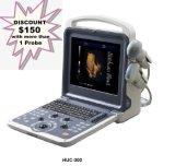 Huc-300 l'équipement médical portable 4D scanner de diagnostic à ultrasons Doppler couleur
