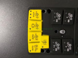 Clavier Clavier ordinateur//OEM/clavier en caoutchouc silicone Produit/clavier/étanches en caoutchouc de silicone personnalisée du clavier de commande