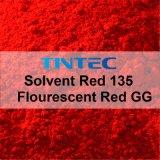 Colore rosso solvibile 135 del colorante - colore rosso trasparente per esempio per plastica