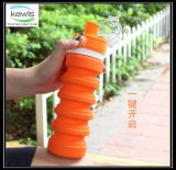 500ml Silicone Drinking Water Bottle met pp GLB