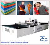Equipos de corte de ropa de cortadora de tela