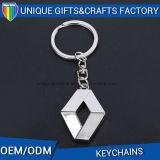 Cadeau de promotion en gros Marque de voiture Porte-clés en métal en alliage de zinc
