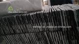 Ardoise noire Ledgestone pour des tuiles de panneau de mur, décoration de façade