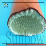 Koker van de Glasvezel van Sleeving van de Bescherming van de Kabel van de vezel de Optische Vuurvaste