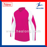 Los deportes de la aptitud de Healong desgastan el voleibol unisex Jersey de la impresión de Digitaces para la venta
