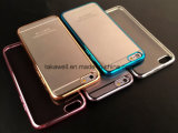 iPhone 6 Cell 또는 Mobile Phone Cover/Case를 위한 높은 Quality Electroplate TPU Case