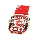 カスタマイズされた卸し売りよい価格のサッカーメダル広告