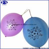Personifizierter doppelter mit Seiten versehener bekanntmachender Latex-purpurroter Locher-Ballon