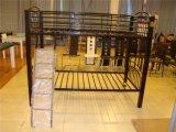 강철 금속 프레임 2단 침대가 현대 가구 학교에 의하여 두 배 프로젝트 기숙사 농담을 한다