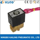 Mini elettrovalvola a solenoide normalmente chiusa ad azione diretta materiale d'ottone Vx2130-10