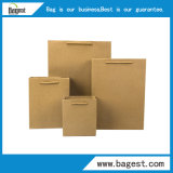 Мода крафт-бумаги ручной сумки упаковка бумажный мешок с логотипом