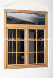 Alemania el estilo de doble acristalamiento de la ventana de madera maciza