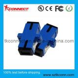 Sc Sm Simplex couleur bleu de l'adaptateur fibre optique