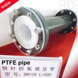 Tubo revestido com PTFE (com flange fixa ou de rotação)