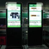 LCDスクリーン表示メディアプレイヤーを広告する42インチのホテル