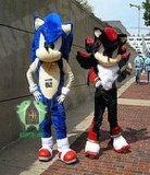 Hi fr71 Sonic bleu Film Costume de la mascotte de caractères