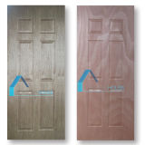 Okumeのベニヤが付いている2.7mm形成された合板のドアの皮6のパネル