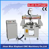 Ranurador de madera del CNC del eje rotatorio 0508, máquina de grabado rotatoria del CNC con 4 el regulador del eje DSP