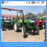 40/48/55HP 4WD 농업 바퀴 또는 농장 또는 소형 경작하거나 정원 또는 조밀한 디젤 엔진 트랙터