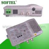 5-200MHz 8 방법 광섬유 반전 실내 마디 (SR808R)