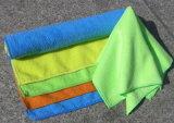 Полотенце Microfiber ткани чистки Microfiber самого лучшего цены цветастое рециркулированное автоматическое (CN3601)