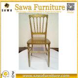 Cadeira plástica do casamento da cadeira de Napoleon da resina para o arrendamento