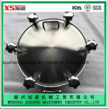 cubierta de boca a presión redonda de la categoría alimenticia del acero inoxidable 316 de 600m m con la junta del FDA
