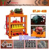 2016 중국에 있는 최신 판매 Qtj4-40 벽돌 만들기 기계 정가표