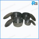 8 pièces en acier inoxydable de pots d'essai avec les couvercles et les certificats d'aluminium Cnas