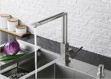 Nuevo mezclador de la cocina del eslabón giratorio del cuadrado del diseño