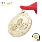 Médailles en alliage de zinc Bronze sur mesure Ym1167