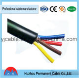 H05VV-F 2*0.75mm, 2*1.5mm2, 2*1mm, 2*2.5mm, 2*4mm; 2*6mmelectric fio Rvv