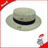 Chapéu do jogador do chapéu de palha do chapéu do Boater do chapéu de Sun