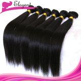 Haar-spinnt peruanisches Jungfrau-Haar der Königin-5A gerade 20inches